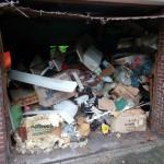 Räumung Garage vorher