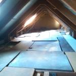 Räumung Dachboden nachher